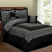 Leopard 6-pc. Microsuede Comforter Set