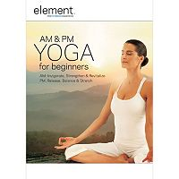 Element AM & PM Yoga for Beginners DVD