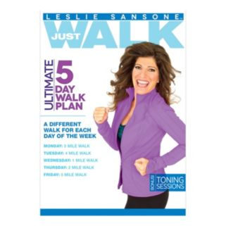 Leslie Sansone Ultimate 5-Day Work Plan DVD