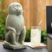 Bombay® Outdoors Nubian Baboon Garden Statue - Indoor / Outdoor