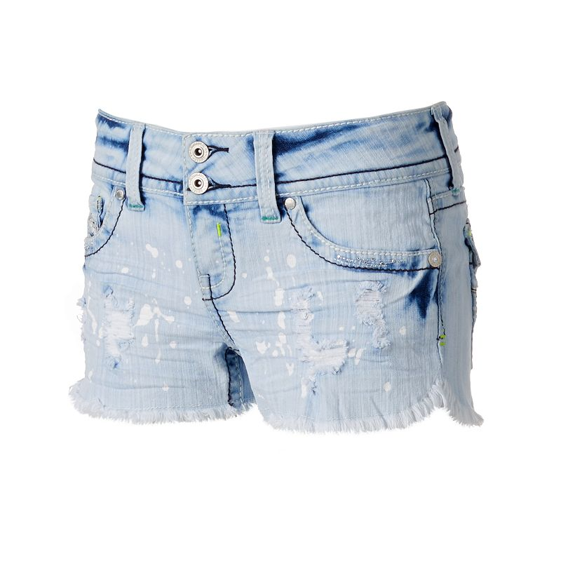 Hydraulic Bailey Jean Shortie Shorts - Juniors