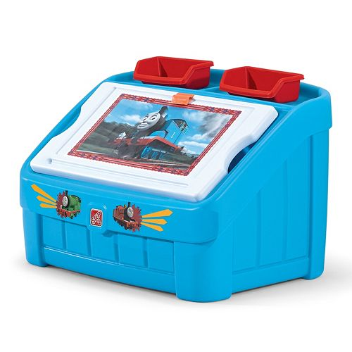 Step2 Thomas the Tank Engine 2-in-1 Toy Box & Art Lid