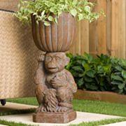 Bombay® Outdoors Mumbai Monkey Urn Planter - Indoor / Outdoor