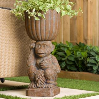 Bombay® Outdoors Mumbai Monkey Urn Planter - Indoor / Outdoor