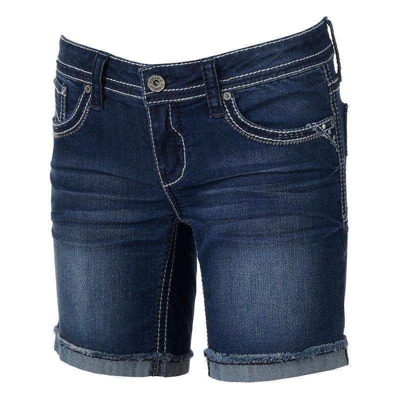 Hydraulic Bailey Bermuda Denim Shorts - Juniors