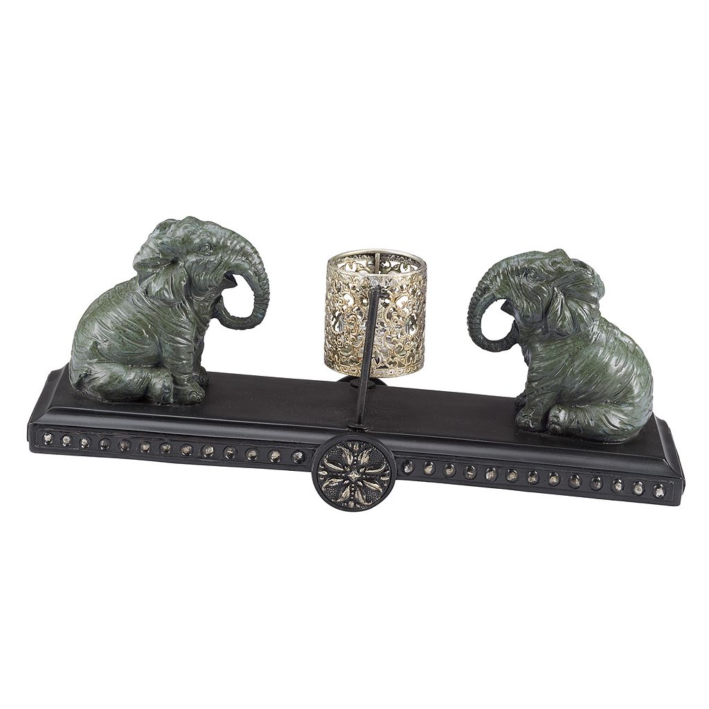 Bombay® Outdoors Elephant Tealight Candleholder - Indoor / Outdoor