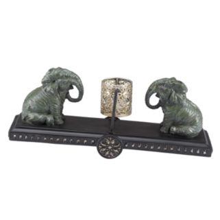 Bombay® Outdoors Elephant Tealight Candleholder - Indoor / Outdoor