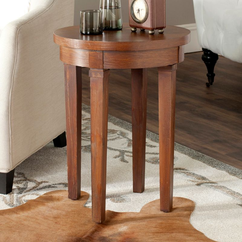 Safavieh Kipp End Table, Brown