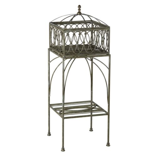 Bombay® Outdoors Lyon Filigree Planter Stand – Indoor / Outdoor
