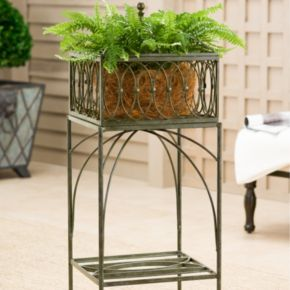Bombay® Outdoors Lyon Filigree Planter Stand - Indoor / Outdoor