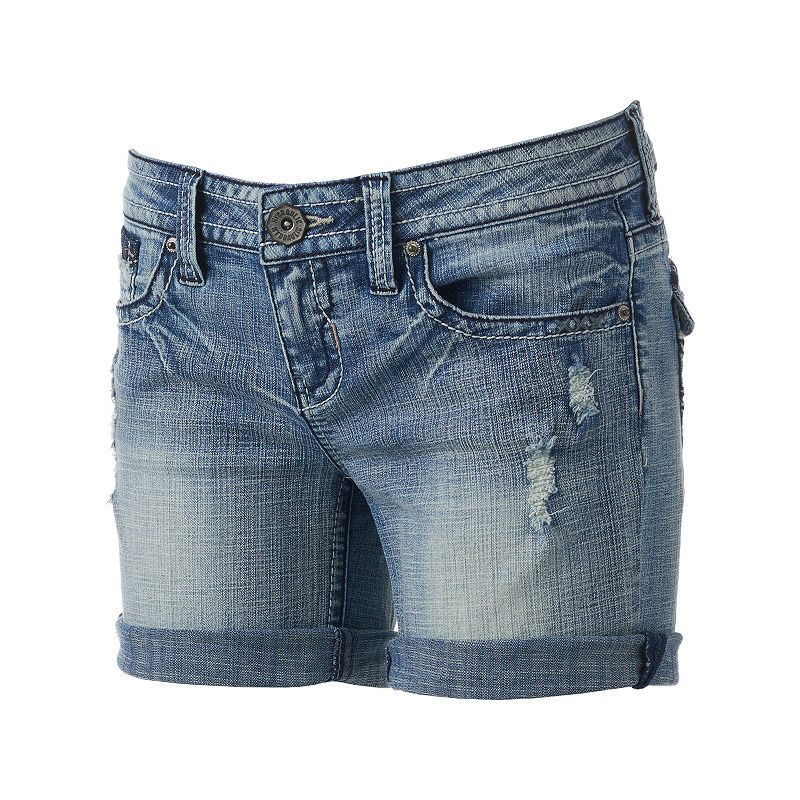 Hydraulic Bailey Bermuda Jean Shorts - Juniors