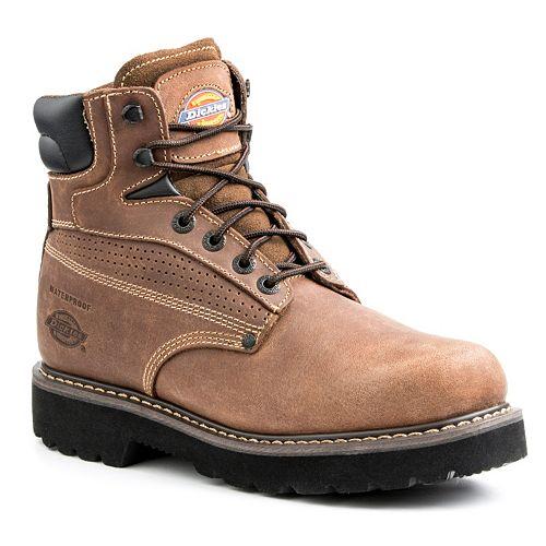 f583fc47d90 Dickies Breaker Men's Waterproof Steel-Toe Work Boots