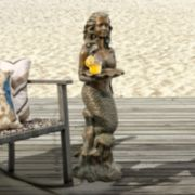 Bombay® Outdoors Francesca Mermaid End Table - Indoor / Outdoor