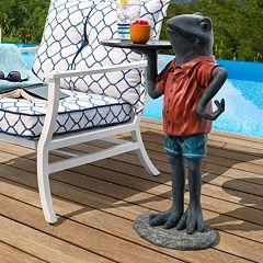 Bombay Outdoors Tobias Frog End Table Indoor \/ Outdoor by