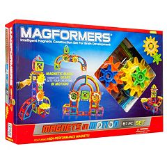 Magformers Magnets in Motion 61 pc Gear Set
