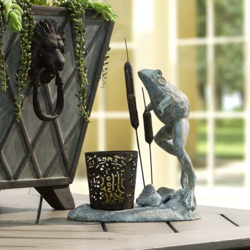 Bombay® Outdoors Leaping Frog Votive Candleholder – Indoor / Outdoor