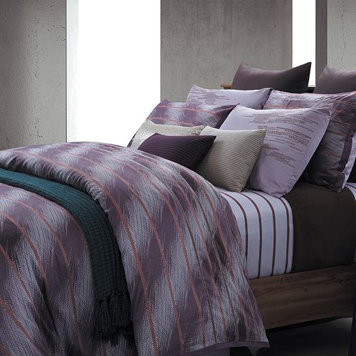 Rainy Day by EverRouge 7-pc. Striped Duvet Cover Set