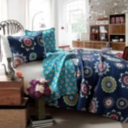Lush Decor Adrianne 3-pc. Reversible Quilt Set