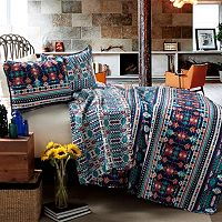 Lush Decor 3 pc Reversible Quilt Set