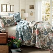 Lush Decor Sydney 3 pc Reversible Quilt Set