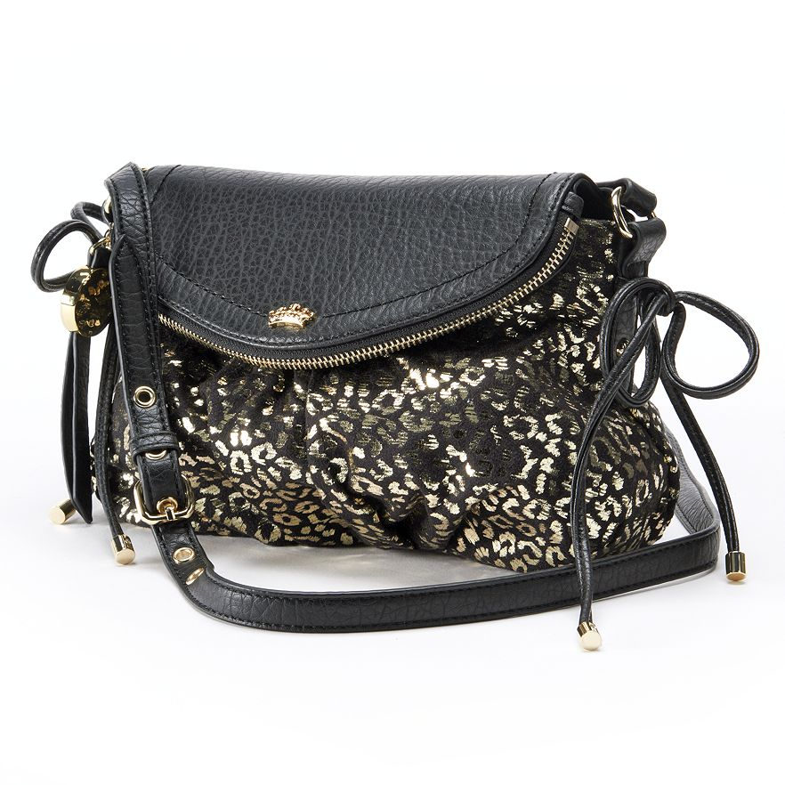 NEW! Juicy Couture Messenger Crossbody Small Bag Purse ...
