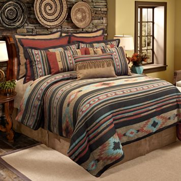 Veratex Santa Fe 4-pc. Comforter Set