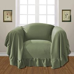 United Curtain Co. Westwood Chair Slipcover