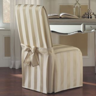 United Curtain Co. Madison Dining Room Chair Slipcover