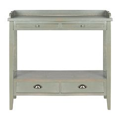 Safavieh Peter Ash Gray Console Table