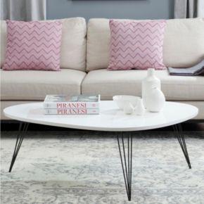 Safavieh Wynton White Coffee Table