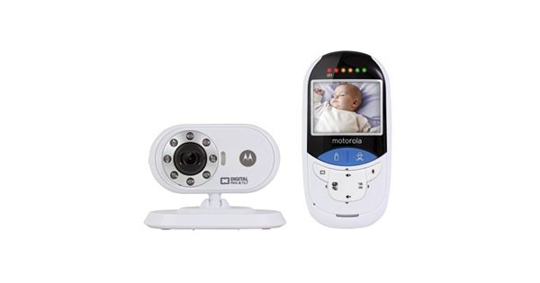 motorola mbp27t digital video baby monitor and built in touchless thermometer. Black Bedroom Furniture Sets. Home Design Ideas