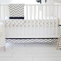My Baby Sam Out of the Blue 3 pc Crib Bedding Set
