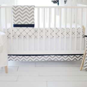 My Baby Sam Out of the Blue 3-pc. Crib Bedding Set