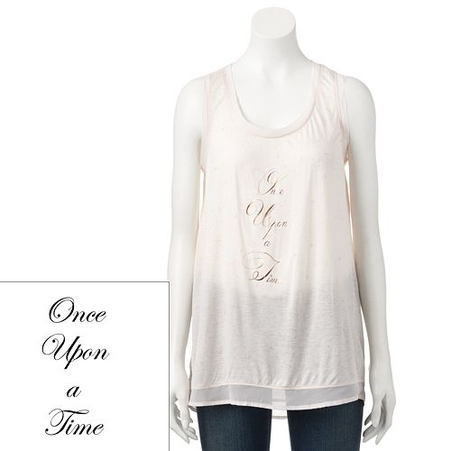 Disney's Cinderella a Collection by LC Lauren Conrad Foil Graphic Tank  - Women's