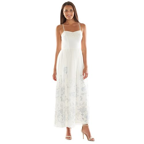 Disney's Cinderella a Collection by LC Lauren Conrad Floral Maxi Dress - Women's