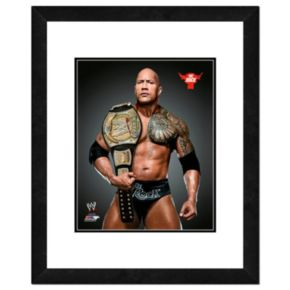 """The Rock Framed 11"""" x 14"""" Photo"""