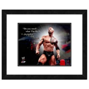 "The Rock Pro Quote Framed 11"" x 14"" Photo"