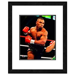 Mike Tyson 1995 Action Framed 11' x 14' Photo