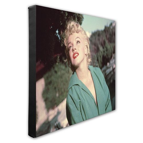 Marilyn Monroe 1951 16 x 20 Stretched Canvas Photo