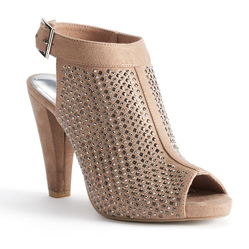 Jennifer Lopez Women's Caged Dress Heels