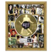 """Elvis Presley 75th Birthday Celebration 20"""" x 24"""" Framed Gold Record"""