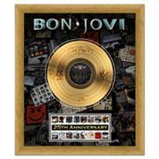 Bon Jovi 25th Anniversary 20' x 24' Framed Gold Record