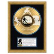 """Elvis Presley Elvis Lives 16"""" x 20"""" Framed Etched Gold LP"""