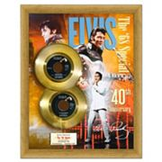 Elvis Presley 50th Anniversary for '68 Special 16' x 20' Framed Gold 45