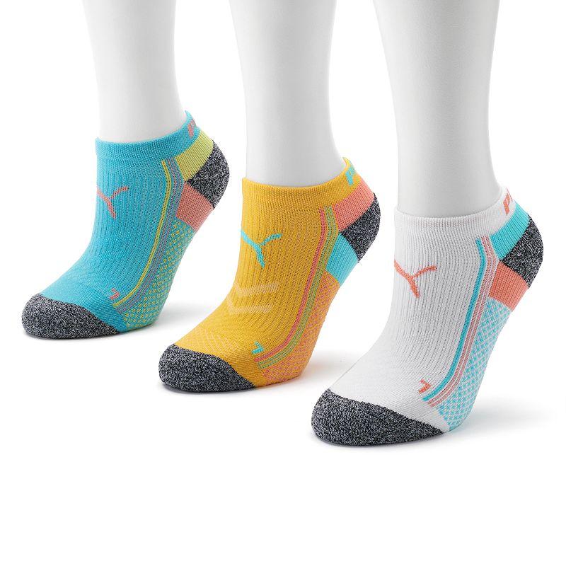 PUMA 3-pk. Low-Cut Performance Socks - Women