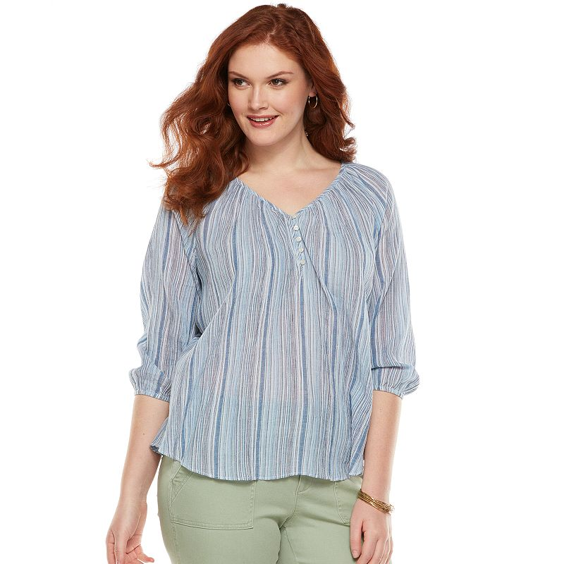 Women's Blouses. When your look calls for something a little more sophisticated, it's time to button-up with a blouse or shirt. Our floaty and feminine wrap tops, kimonos, camis, rouched blouses and corset shirts can take you to bold new heights.