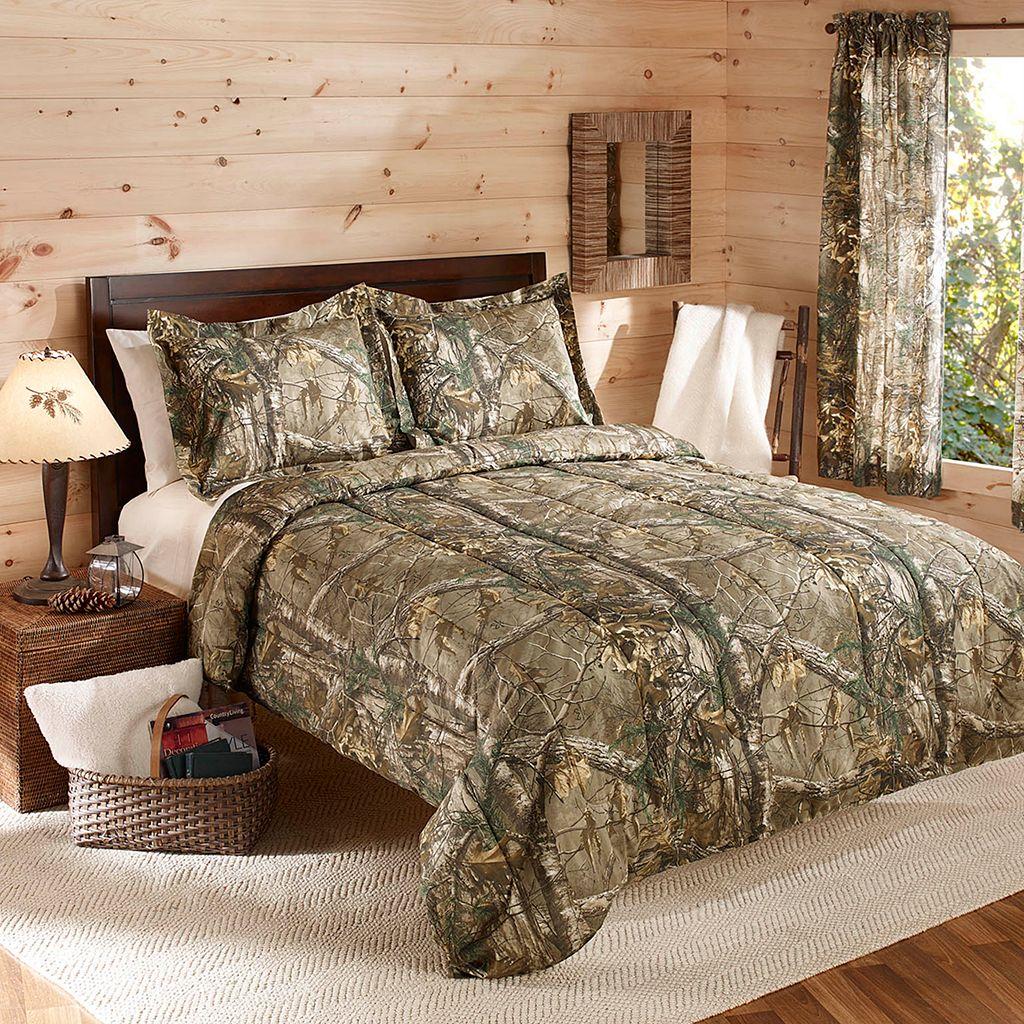 Realtree Camo Reversible Comforter Set