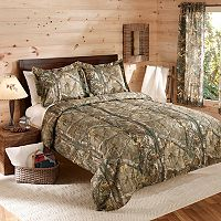 Realtree Camo Reversible Comforter Set