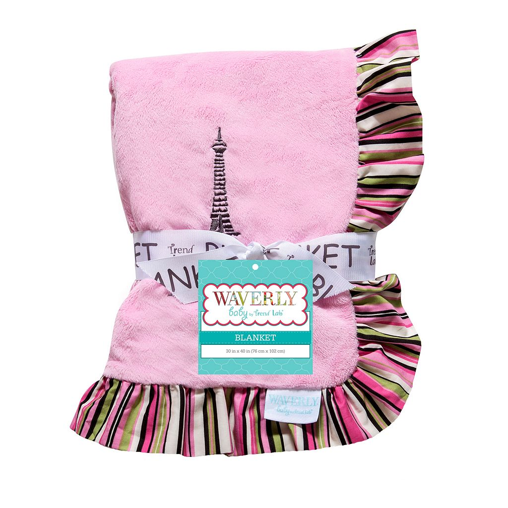 Waverly Baby by Trend Lab Tres Chic Receiving Blanket