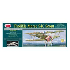 Guillow's Thomas Morse Scout Laser Cut Model Airplane Kit